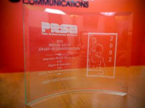 Bronze Anvil Award