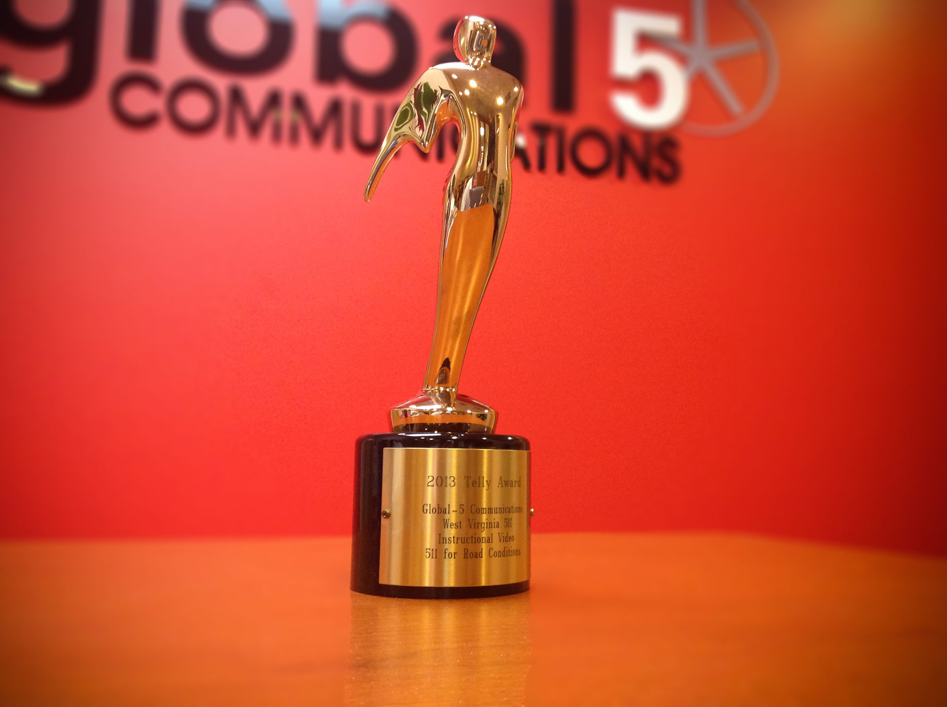 34th Annual Telly Awards Congratulates Global-5 with Bronze Telly Award