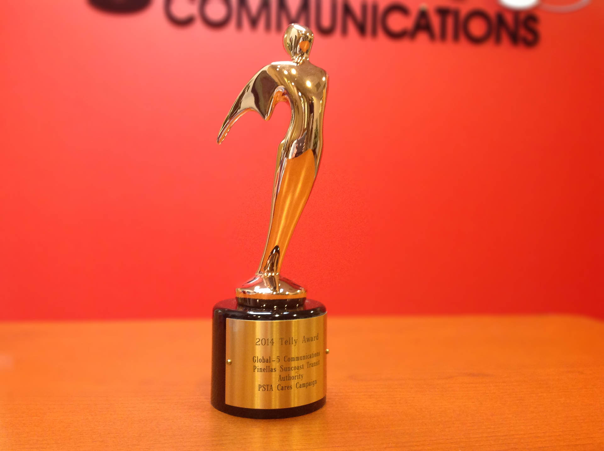 Global-5 Communications Named a Winner in the 35th Annual Telly Awards