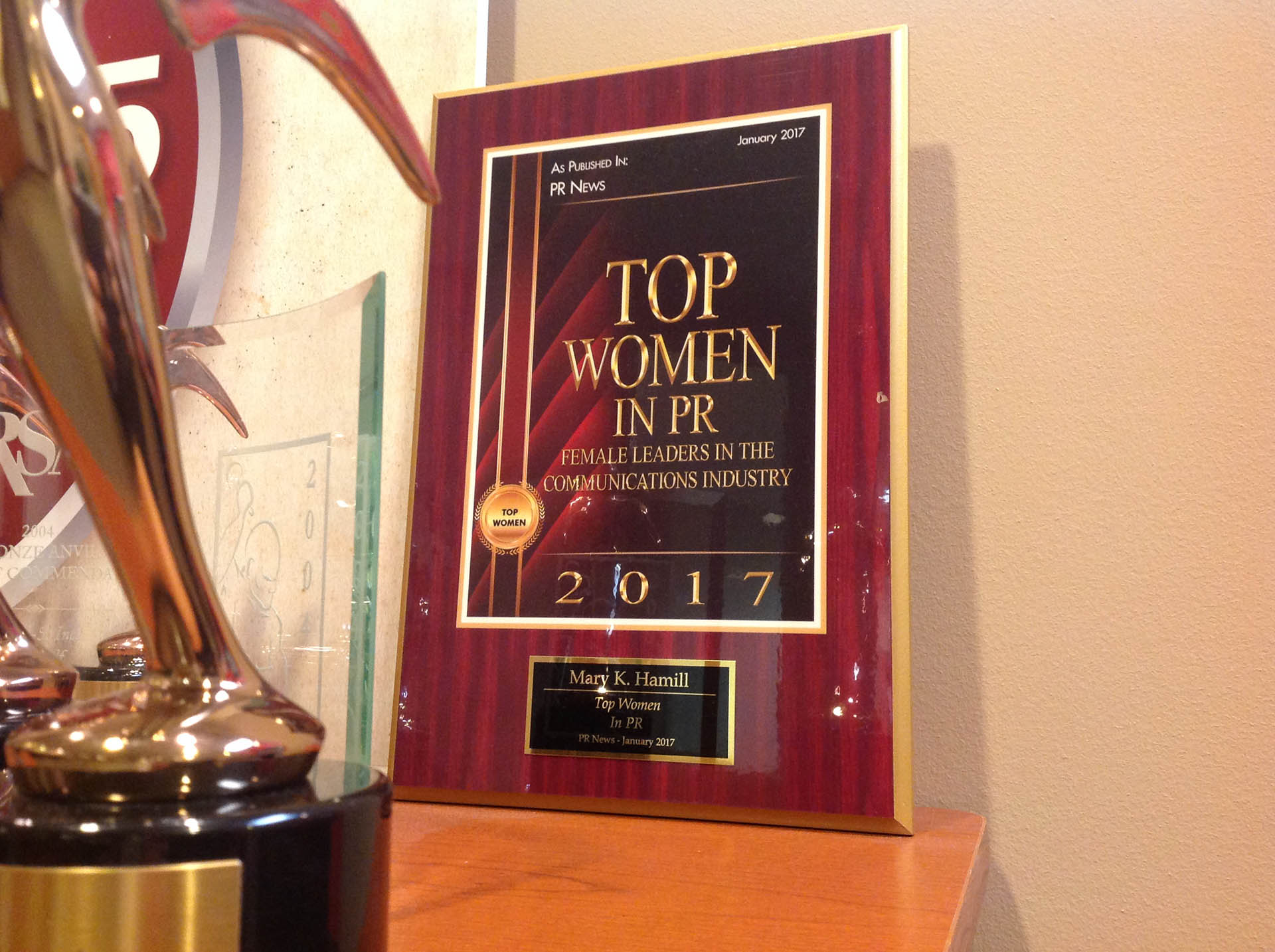 Global-5 Communications CEO Mary Hamill Wins Top Women in PR Award