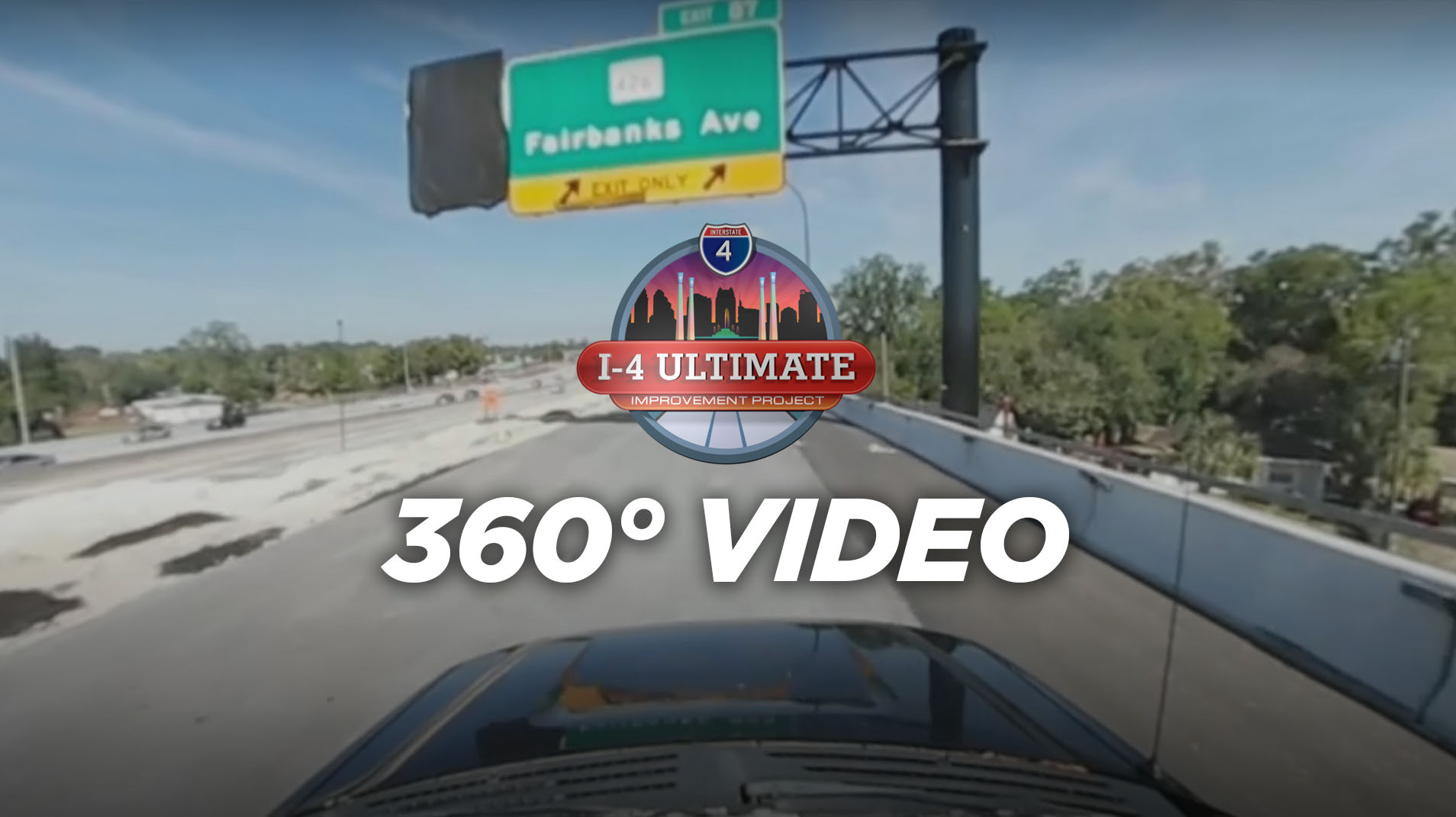 Global-5 produces 360° video previewing new eastbound exit ramp on I-4 Ultimate Improvement Project