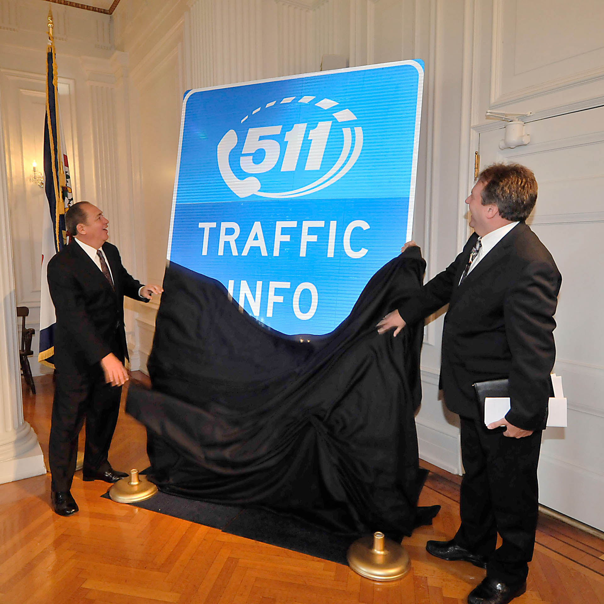Global-5 Helps WVDOT launch 511 System with Governor Earl Ray Tomblin