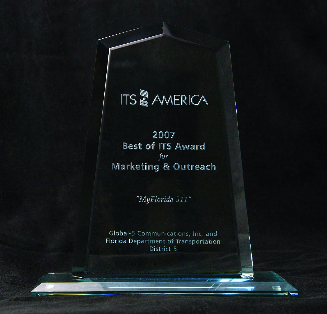 ITSA's 2007 Best of ITS Award