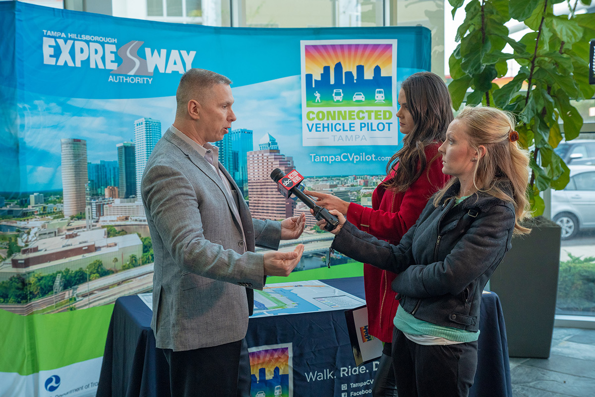 Media Event Shines Spotlight on Connected Vehicles