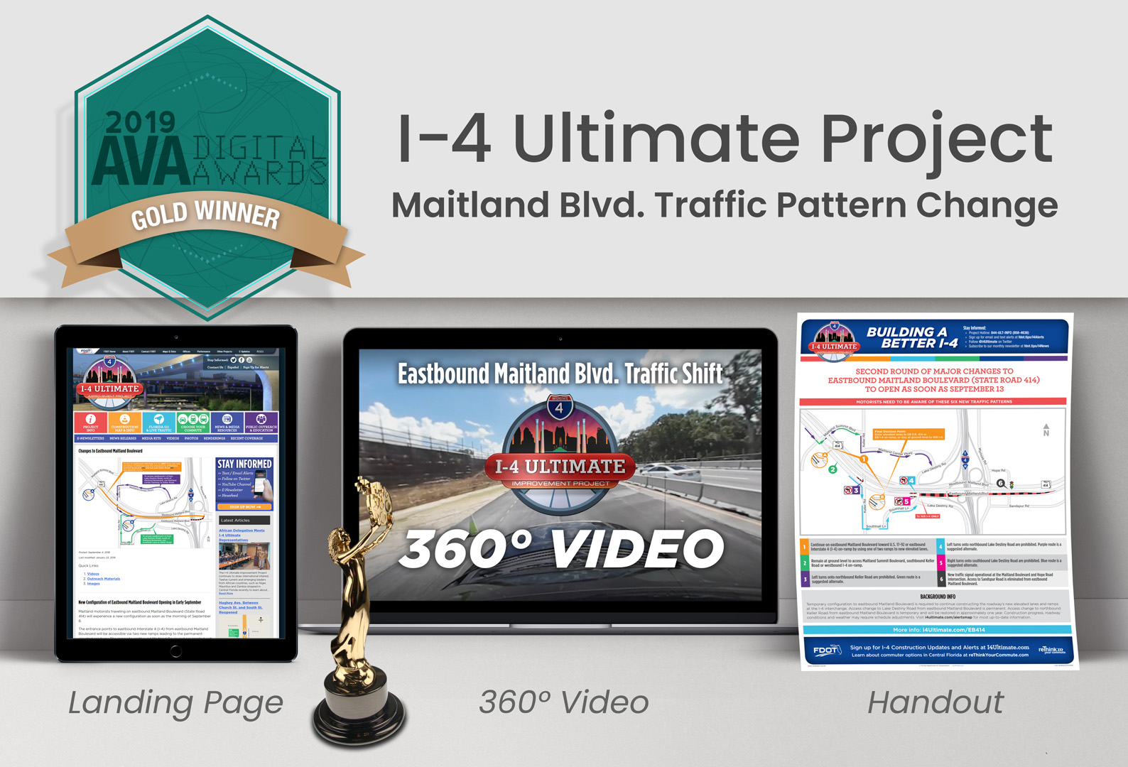 Global-5 Wins Gold Award for I-4 Ultimate Community Outreach