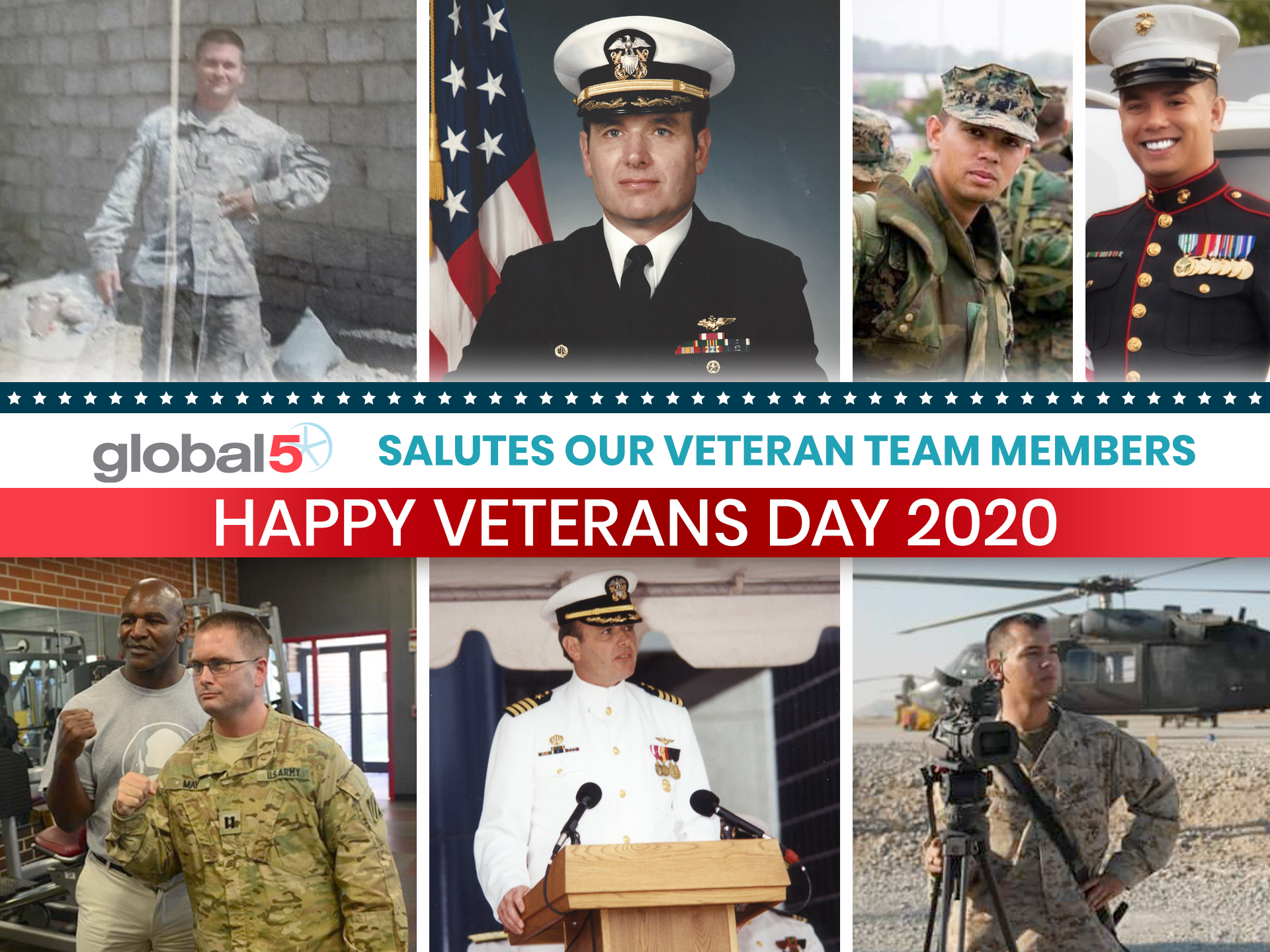 Global-5 Salutes Our — and All — Veterans