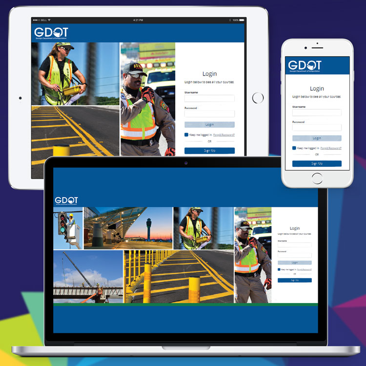 Georgia Department of Transportation (GDOT) Learning Management System (LMS)